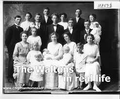 the waltons in real christian home and family