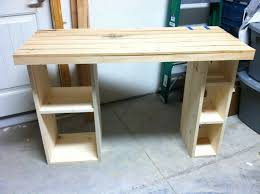 Building A Wooden Desk by