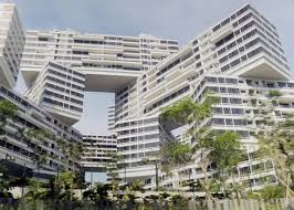 singapore apartments oma s jenga like interlace luxury apartments near completion in