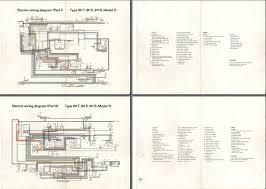 electric wiring diagram 911 1971 elektrische installatie