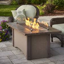 Fire Pit Outdoor Furniture by Natural Gas Fire Pit Tables You U0027ll Love Wayfair
