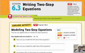 lesson 6 3 writing two step equations youtube