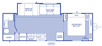airstream travel trailers floor plans 2004 fleetwood pioneer travel trailer floor plans