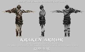 image kraken armor png god of war wiki fandom powered by wikia