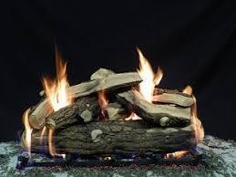 Firepit Logs Ceramic Pit Logs Country Split Set Montana Pits