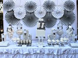 silver party favors silver and white party decorations home decor 2018