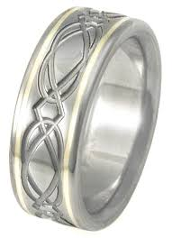titanium celtic wedding bands titanium celtic wedding rings ck23 titanium rings studio