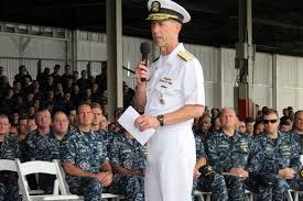 Military Funeral Flag Presentation U S Navy Burial At Sea Military Com