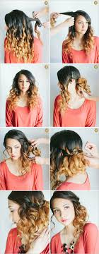step bu step coil hairstyles easy side hairstyles you can try to do