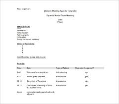 agenda template u2013 24 free word excel pdf documents download