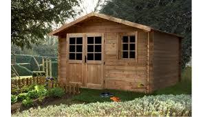 abris de jardin madeira abri de jardin bois traité 9 75 m 28 mm d épaisseur aloha madeira