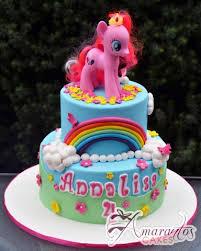 pony cake two tier my pony cake nc672 amarantos cakes melbourne