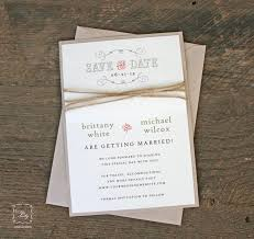 save the date envelopes rustic twine wedding save the date rustic save the date save