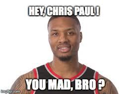 Chris Paul Memes - image tagged in nba all star lillard chris paul imgflip