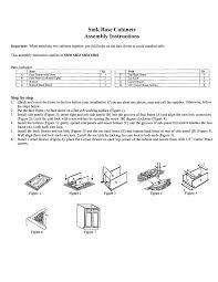 Assembling Kitchen Cabinets Rta Cabinet Assembly Instructions Jsi Kitchen Cabinets