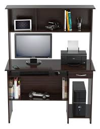 inval computer desk with hutch inval computer work center with hutch espresso wengue