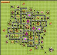 coc layout builder th8 th8 trophy hunting base