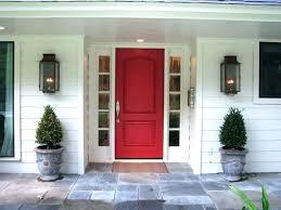 best front door plants front porch planter ideas for fall red door