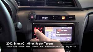 2012 scion tc features milton ruben toyota youtube
