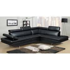 canap d angle noir canapé d angle design noir 6 places angle droit achat vente