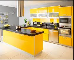 meuble cuisin choisir couleur peinture pour la cuisine avec meubles de couleur vive