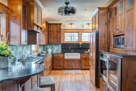 craftsman kitchen cabinets kitchen craftsman with breakfast bar