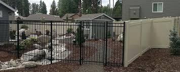 ornamental fence ornamental gates spokane wa