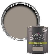 colours one coat taupe eggshell wood u0026 metal paint 750 ml