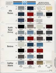 auto color chips color chip selection auto paint colors