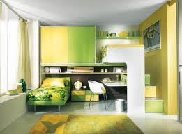 decoration ideas cute light green shared bedroom decoration