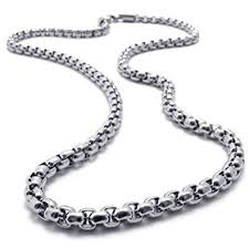 steel necklace chains images Mens stainless steel necklaces necklace jpg