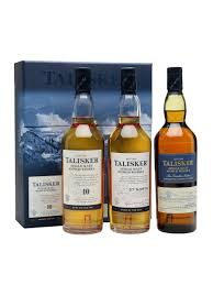 Scotch Gift Basket Talisker Gift Pack 3x20cl Scotch Whisky The Whisky Exchange