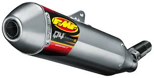 fmf q4 hex s a slip on exhaust yamaha wr450f 2012 2015 revzilla
