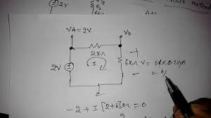 problem on diode circuits youtube