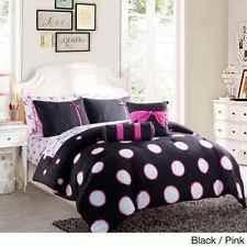 Teen Comforter Set Full Queen by Teen Comforter Set Full Queen Pink Teal Purple Polka Dot Bed