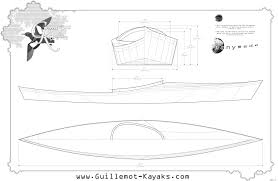 Wooden Boat Building Plans For Free by Ganymede Guillemot Kayaks Small Wooden Boat Designs