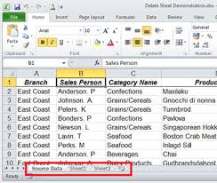 how to select sheets how to delete a worksheet quicker using keyboard shortcuts sage
