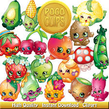 80 shopkins fruit and vegetables characters design