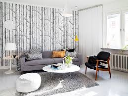 modern swedish home design exposed white color which very suitable