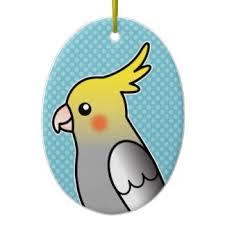 cockatiel ornaments keepsake ornaments zazzle i could make a