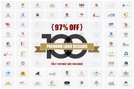 97 off 100 premium logo designs logo templates creative market