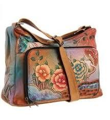 anuschka premium antique anuschka 528 compartment satchel blissful bird back of