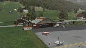 fsx se orbx lsgk saanen test and circling with pa 28r arrow iii