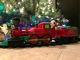 spread christmas cheer with lionel u0027s two new holiday themed disney