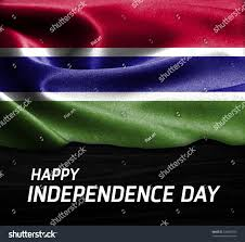 Gambia Flag Happy Independence Day Gambia Flag On Stock Photo 338667350
