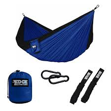 winner outfitters double camping hammock amazon com edge outfitters camping hammock heavy duty portable