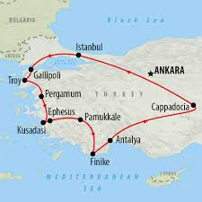 Turkey Greece Map by Best Time To Visit Turkey On The Go Tours