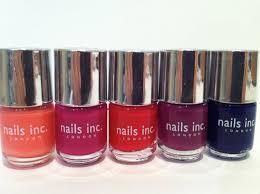 glam polish nail mail nails inc the in crowd mini set