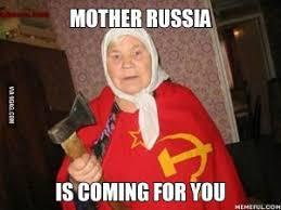 Russia Meme - in mother russia memecube