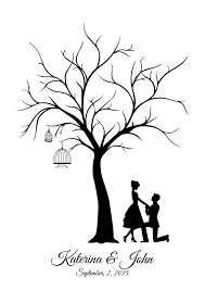 wedding tree guest book wedding tree template wedding guestbook canvas wedding tree guest